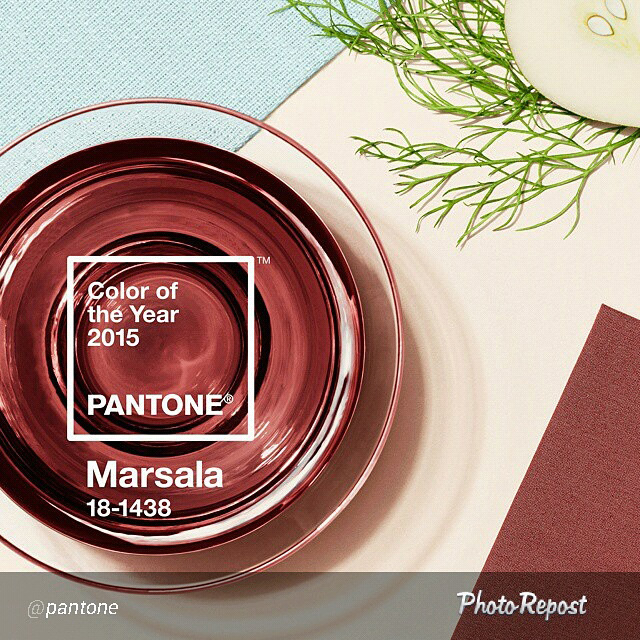color pantone 2015 marsala
