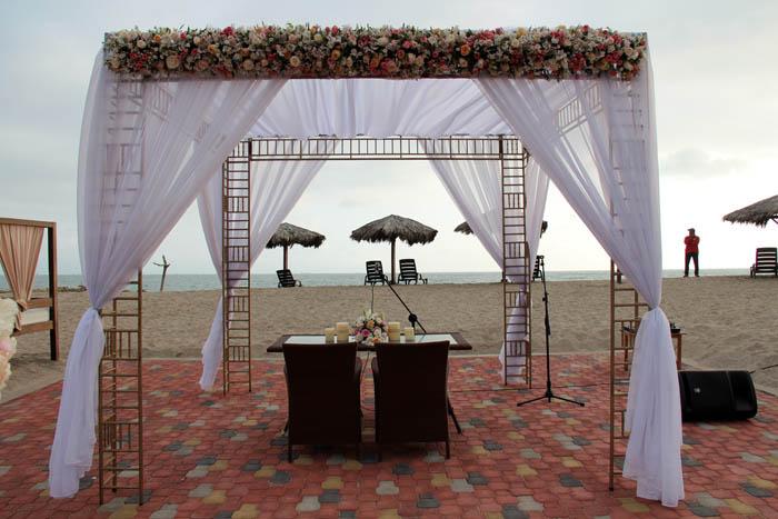 bodas en la playas de ecuador