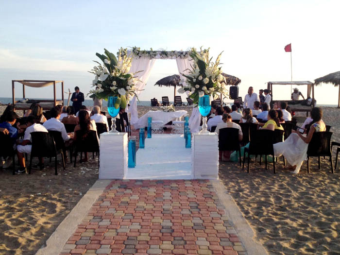 colores boda playa ecuador